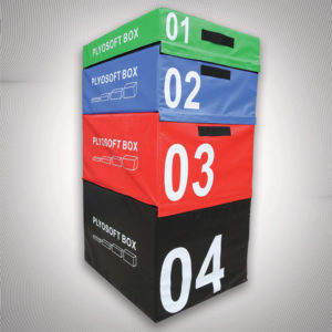 Soft Plyometric jump box full set