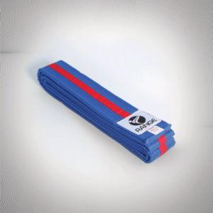 Martial Arts Red Tag (blue belt red strip)