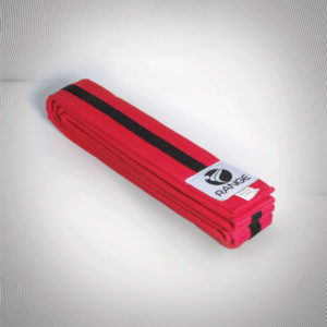 Black Tag (Red belt Black strip)