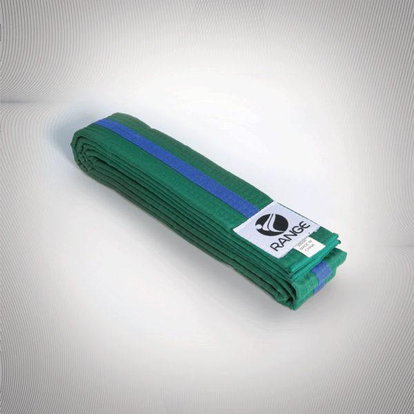 Martial Arts Blue Tag (Green belt Blue strip)