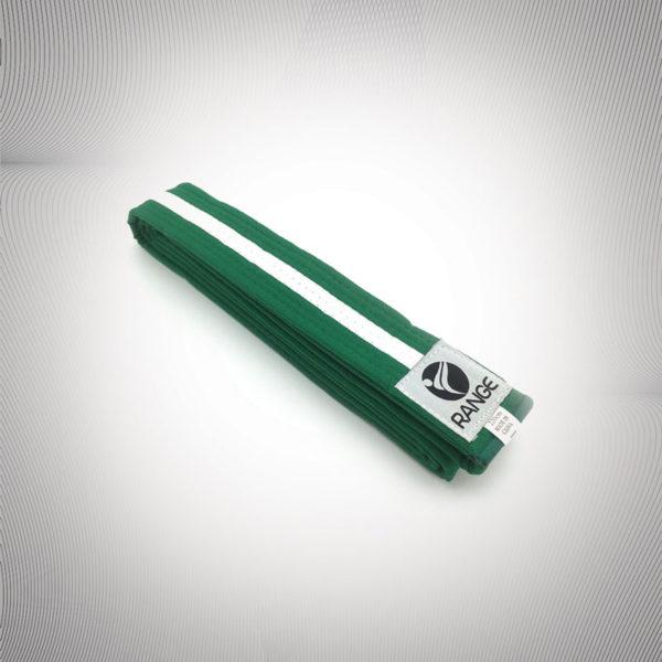 Littel Dragon Green belt with white strip
