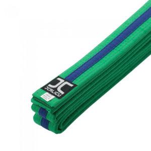 Martial Arts JC Blue Tag (Strip) Belt