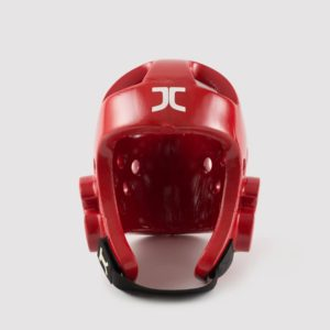 Taekwondo JC Club Head Protector Red WT Approved