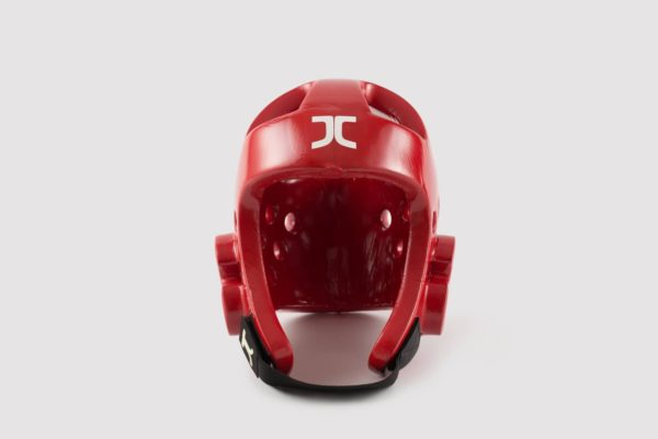Taekwondo JC Club Head Protector Red WT Approved