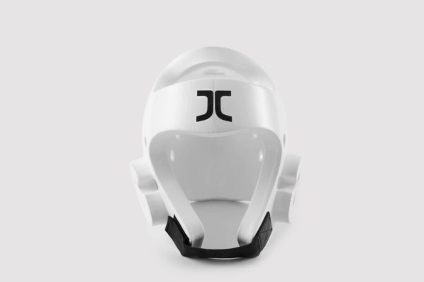 Taekwondo JC Club Head Protector White WT Approved