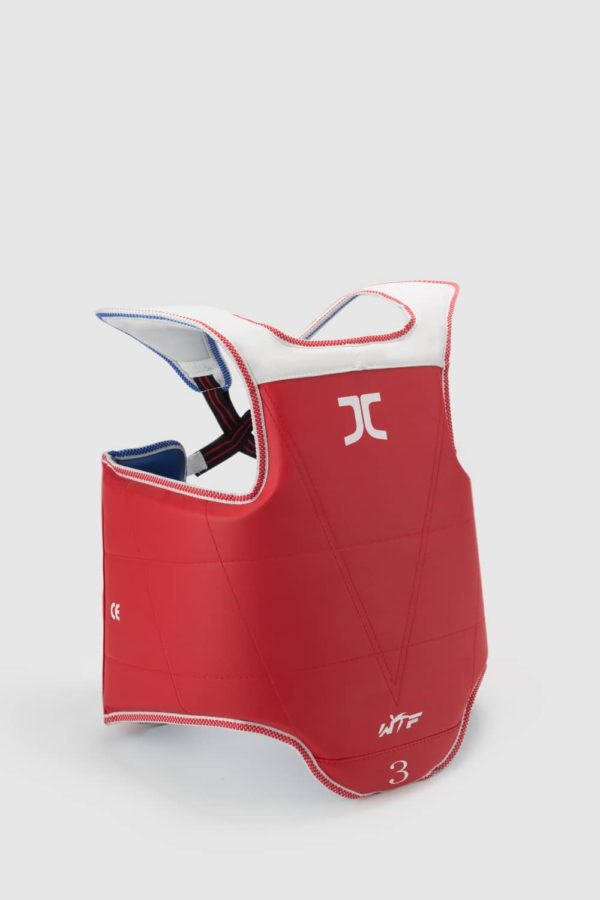 Taekwondo JC Club Reversible Chest Protector WT Approved